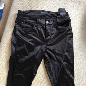 Guess skinny shimmer pants